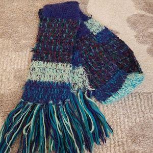 Multi color Knit Scarf